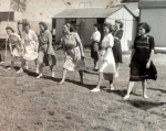 mums race at sports day